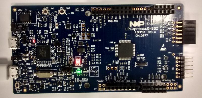 LPC54102 LPCXpresso board tutorial | David Rojas
